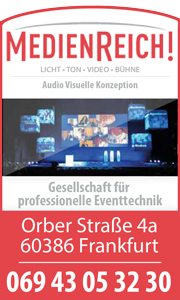 Medienreich Licht, Ton, Bühne, Video Audio Visuelle Konzeption, Gesellschaft für professionelle Eventtechnik